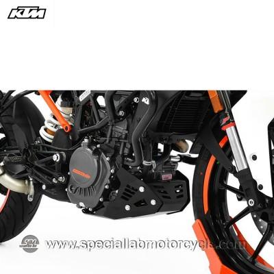 Piastra Paramotore Ibex per KTM Duke 125 Black