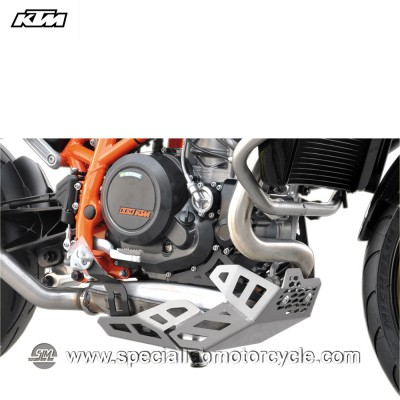 Piastra Paramotore Ibex per KTM Duke 690 Silver
