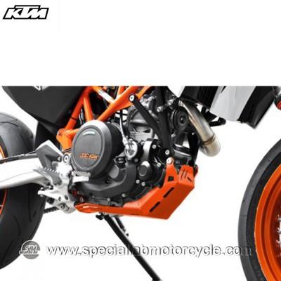 Piastra Paramotore Ibex per KTM Enduro 690 Orange