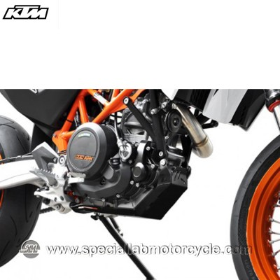 Piastra Paramotore Ibex per KTM Enduro 690 Black