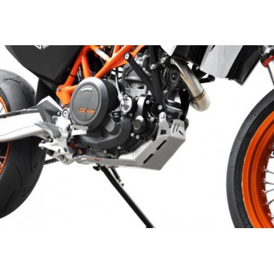 Piastra Paramotore Ibex per KTM Enduro 690 Silver