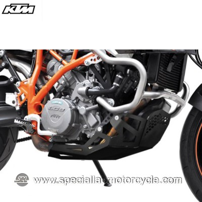 Piastra Paramotore Ibex per KTM Supermoto 990 Silver