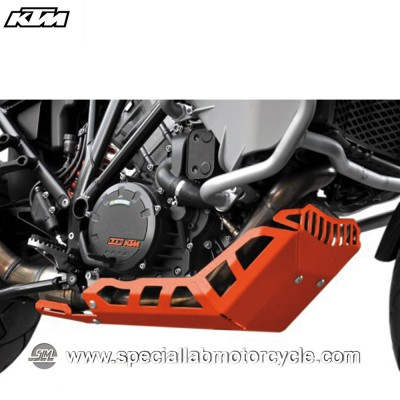 Piastra Paramotore Ibex per KTM Adventure 1990 Orange