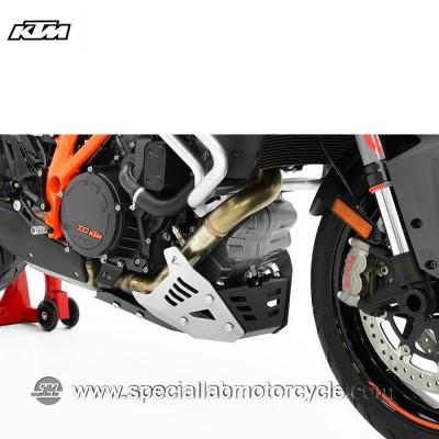 Piastra Paramotore Ibex per KTM 1290 Super Duke GT Black/Silver