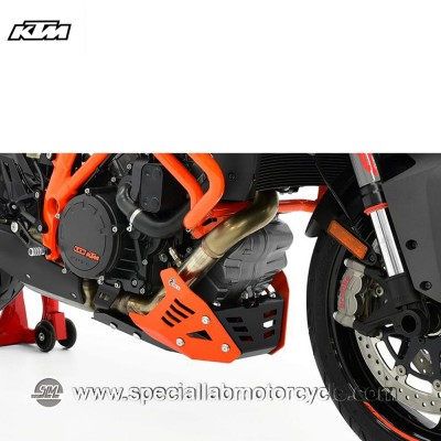 Piastra Paramotore Ibex per KTM 1290 Super Duke GT Black/Orange