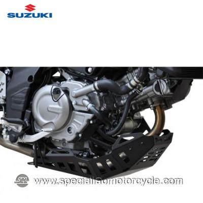 Piastra Paramotore Ibex per Suzuki DL 650 Black