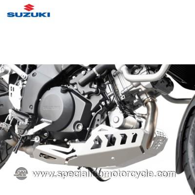 Piastra Paramotore Ibex per Suzuki V-Strom 1000 Silver