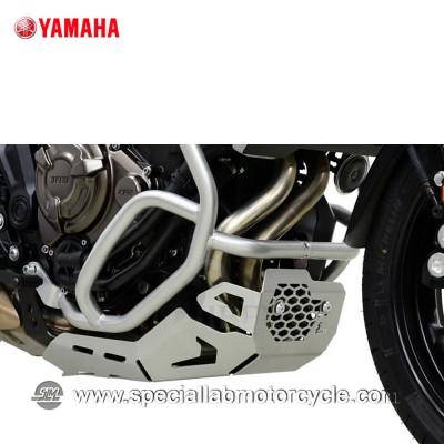 Piastra Paramotore Ibex per Yamaha MT-07 Tracer Silver