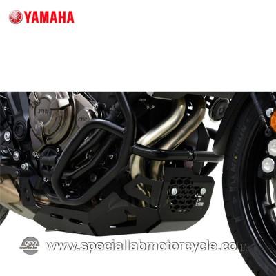 Piastra Paramotore Ibex per Yamaha MT-07 Tracer Black
