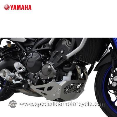 Piastra Paramotore Ibex per Yamaha MT-09 Tracer Silver