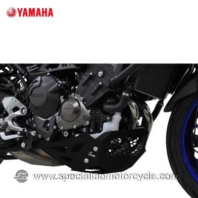Piastra Paramotore Ibex per Yamaha MT-09 Tracer Black