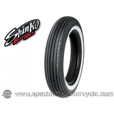 "Shinko - SHR 270 Classic Series Fascia Bianca Cerchio 16""- 5.00-16 69S"