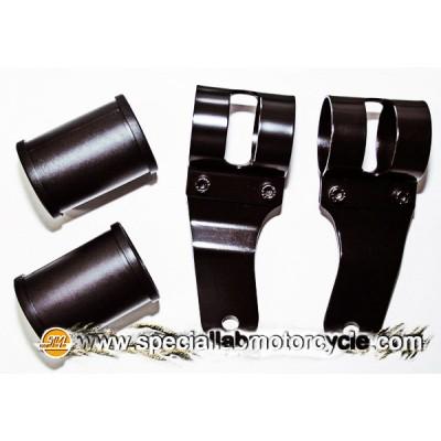 Coppia Reggifaro Tommaselli Replica Black Varie Misure