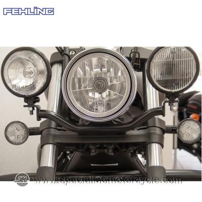 Staffa per fari supplementari Fehling Yamaha XVS 1300 Custom