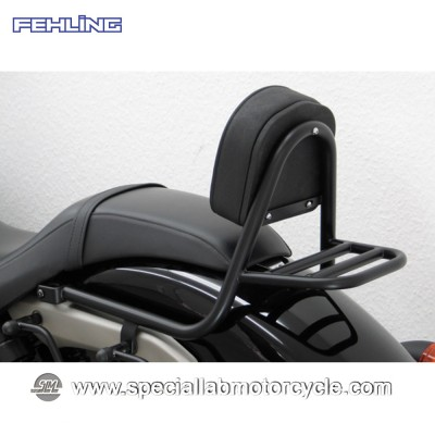 Fehling Schienalino Sissy Bar Honda VT 750 Black Spirit